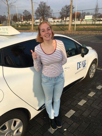 Rijbewijs gehaald Landsmeer