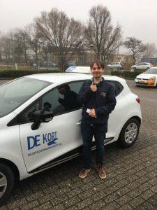 rijbewijs gehaald Castricum