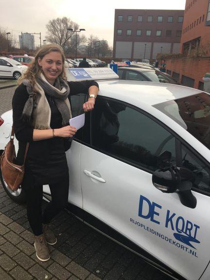 rijbewijs gehaald amsterdam